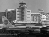 1965 - a view of Miami International Airport from the north side of Concourse 4