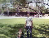 1968 - Carlos Heredia with his dad Jose Heredia at the old Crandon Park Zoo which many of us loved