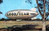 1960 - the Goodyear Blimp L-Ship Ranger N1A on Watson Island, Miami