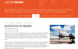 AVIATION IN MIAMI - The First 100 Years Exhibit - was at  HistoryMiami - click on image to view