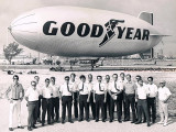 1972 - the fine employees of Goodyear Airship Operations and the GZ-19 Mayflower N1A