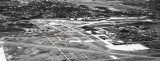 1947 - closeup aerial view of what became Miami International Airport looking north-north east