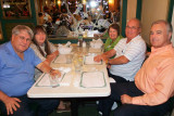 December 2011 - Parks and Susan Masterson, and Karen and Don Boyd with Charles Carter after great Cuban dinners at Versailles