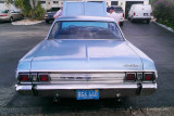 2012 - beautiful 1965 Plymouth Sport Fury owned by Steve Jenkins (HHS class of 1964)
