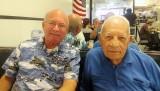 February 2012 - Eric D. Olson, Esq., and retired Hialeah High coach Mike Feduniak at Brothers of Brooklyn in Miami Lakes