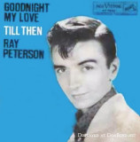 1959 - Ray Peterson's album for Goodnight My Love that Rick Shaw signed off with every night