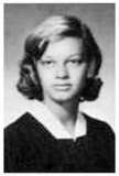 1966 - Dorothy Walling in her senior class photo for the Hialeah High Class of 1966