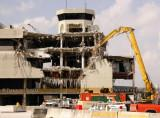 20__ - the Concourse B Tower being demolished as part of the North Terminal Project at Miami International