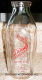 1950's - Dressel's Dairy Farm quart milk bottle