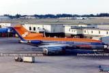 1977 - Air Florida B727-76 N91891 on gate D-4 at Miami International Airport