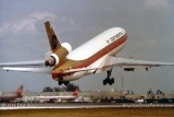 1979 - Continental Airlines DC10-10 N68051 taking off on runway 9-R at Miami International Airport