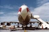 1979 - World Airways B747 at Miami International Airport