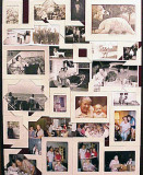 August 1999 - a collage of photos for Norma's funeral service at Boyd's Funeral Home in Hollywood