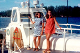 1967 - Janet Province and Anita Petrogallo on Coast Guard Motor Life Boat CG-44371