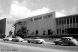 1958 - The Miami News building on NW 7th Street