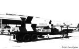 1962 - a U. S. Army Nike Zeus rocket on display at the Opa-locka Air Show