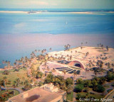 1966 - the main library and bandshell in Bayfront Park