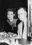 1950's - Dorris and Ted Bamberg at the Night Club in the Air, Miami Beach