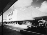 1957 - the new Burdine's Department Store at the 163rd Street Shopping Center (list of other tenants in caption below)