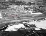 1947 - aerial view of what became Miami International Airport looking north-north east