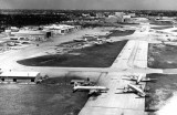 1964 - the north side of MIA looking east at the Pan Am Maintenance Base and Eastern in the background
