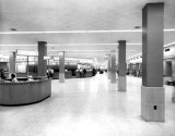 1959 - the interior of the new passenger terminal at Miami International Airport