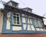 PAINTED TIMBER FRAME
