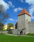 PART OF THE RAMPARTS NEAR TOOMPEA CASTLE