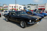 1967 Shelby GT350, with a mid-2000s Ferrari F430 next to it (4085)
