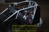 Salem indoor racing Jan 20 2012  BK4 practice