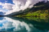 Norwegian lighting and reflections