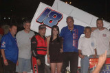 9-7-11 Gold Cup night 1 Civil War Sprint Car Series - Joe Hunt Wingless
