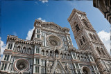 The Basilica di Santa Maria del Fiore is the cathedral church (Duomo) of Florence, Italy, begun in 1296 in the Gothic style