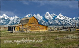 The Grand Tetons in early Spring, WY