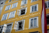 Mozart was born in this building