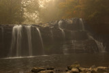 Brushy Falls in Mist