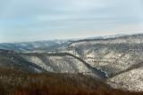 Snow in Bluestone River Gorge