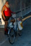 Municher with Bike