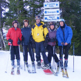 Mt Abram skiing 2-17-11