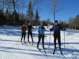 Skiing at Rangeley, 2/5/2012