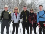 XC Skiing at Jackson, NH, 2/25/2012