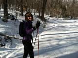 Skate Skiing, Jackson NH, 3/10/2012