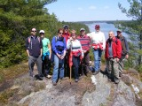 Cliff Trail, Harpswell, 4/29/2012