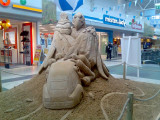 Fördepark Flensburg Sandskulptur