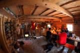 Inside the cabin I.