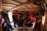 Inside the cabin II.