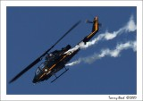 AH-1F Cobra  ~     Sky Soldiers    Army demonstration  team