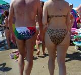 Italia swimming trunks