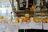 Cheese at street market