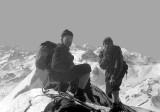 1961 : Sur l'arête de Peyreget avec Hervé